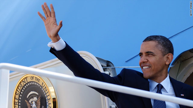 Obama campaign says president's AF-1 fund-raising call 'routine'