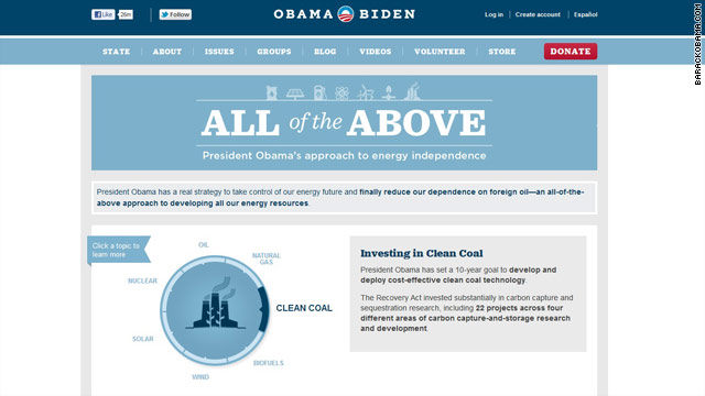 Obama website change covers policy deficiency, Romney camp says