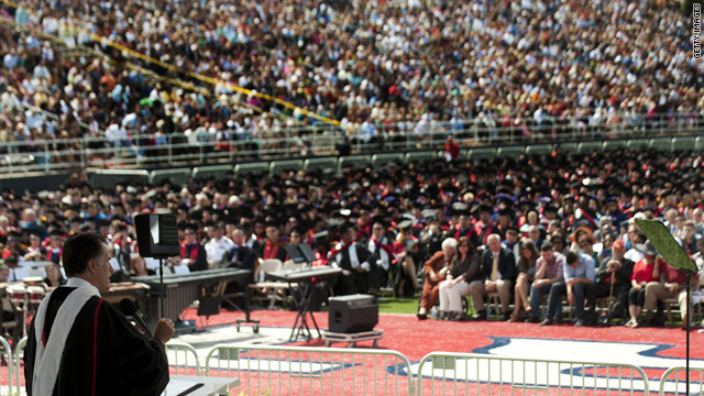 For Liberty students, graduation a moment of celebration, with or without Romney's speech