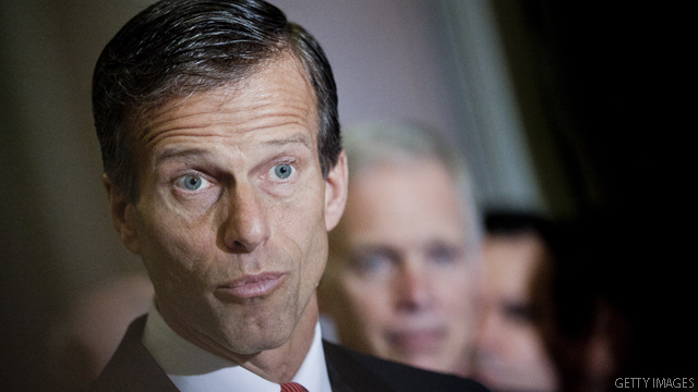 Thune doesn't say no to No. 2 spot