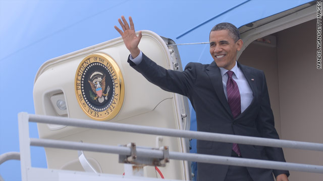 POTUS's schedule for Monday, May 14, 2012: Big Apple
