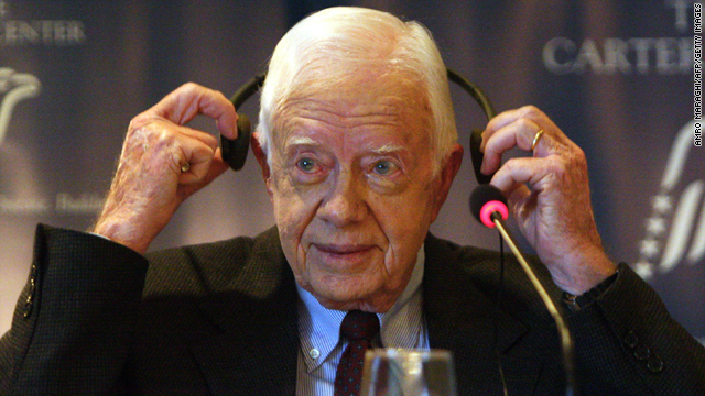 Is former President Carter an effective weapon in Mitt Romney's campaign against President Obama?