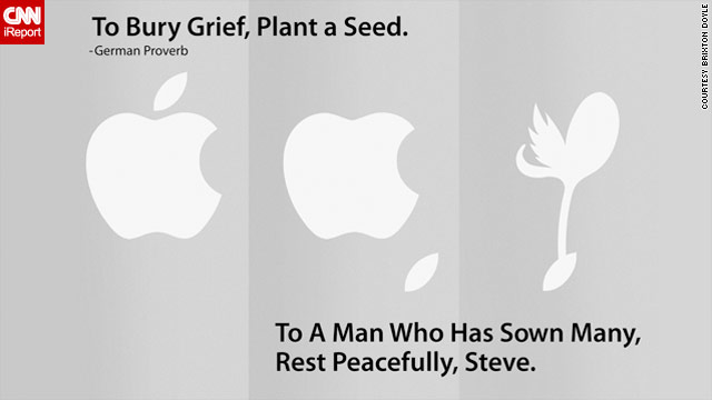 Apple tribute