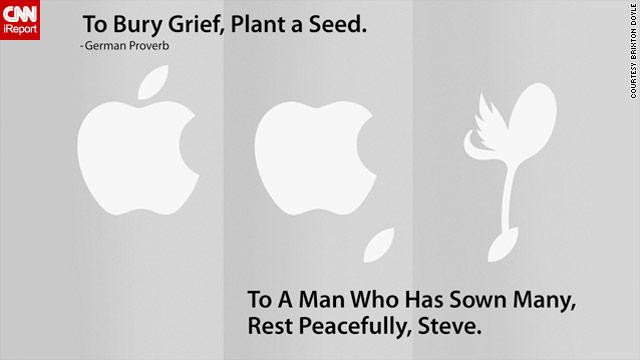 Apple tribute