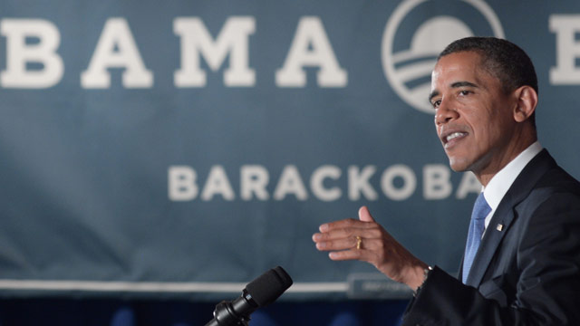Obama compares Romney's rhetoric to 'cow pie of distortion'