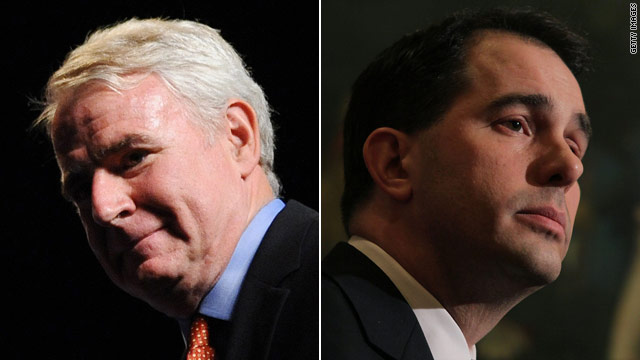 Big spending and close polls in Wisconsin recall battle