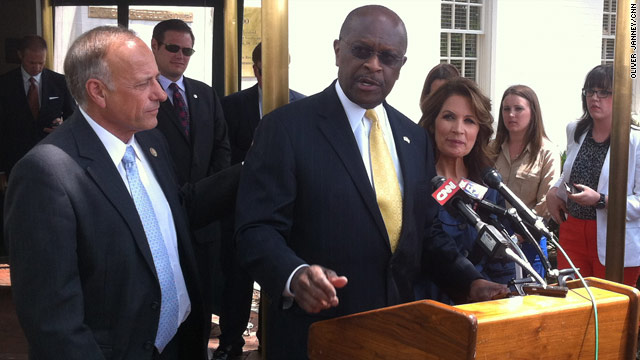 On third endorsement, Cain backs Romney