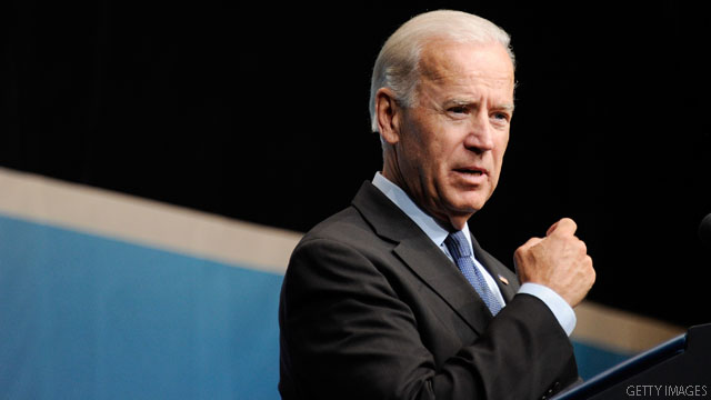 Biden to grads: Don't get cynical