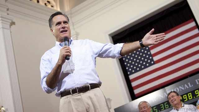Romney was &#039;just watching&#039; kerfuffle