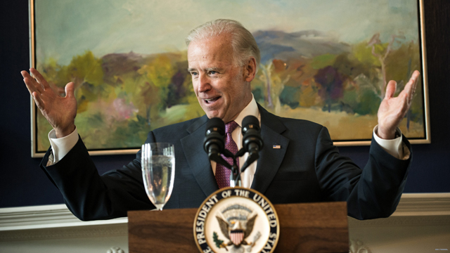 Biden lunching for campaign cash