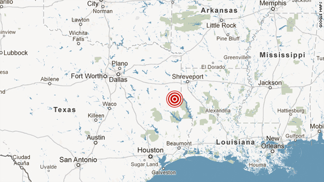 4.3 quake shakes up East Texas