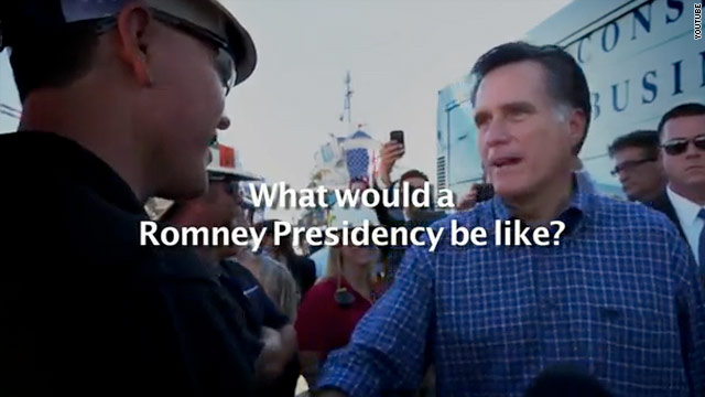 Romney campaign touts day one initiatives in first general election ad