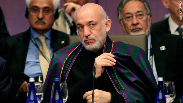 With Afghan president's visit, nations' post-2014 future takes shape