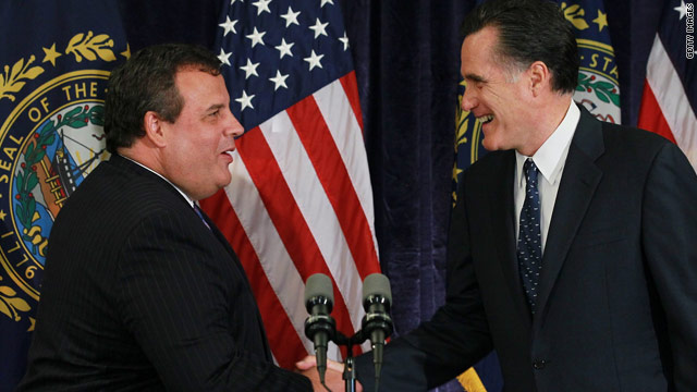 Christie to fund-raise for Romney