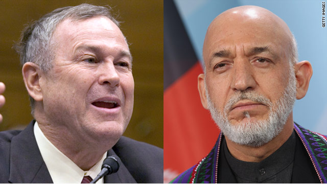 Karzai: I will not let congressman into Afghanistan