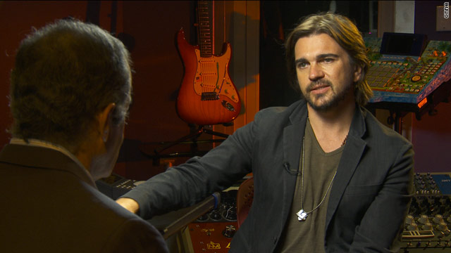 Oppenheimer Presenta broadcasts exclusive interview with Juanes on CNN en Español