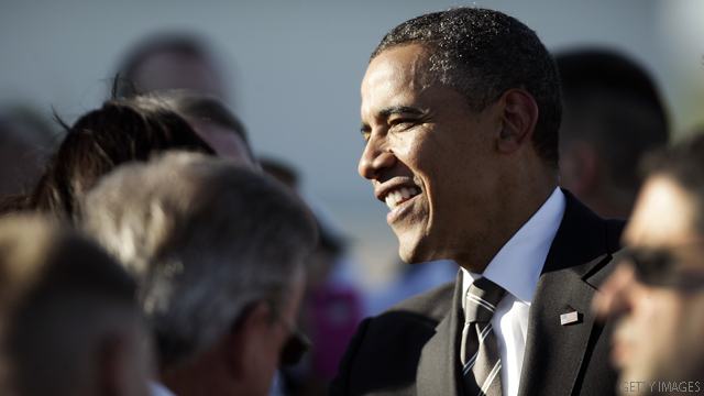 Poll: Obama way ahead in California