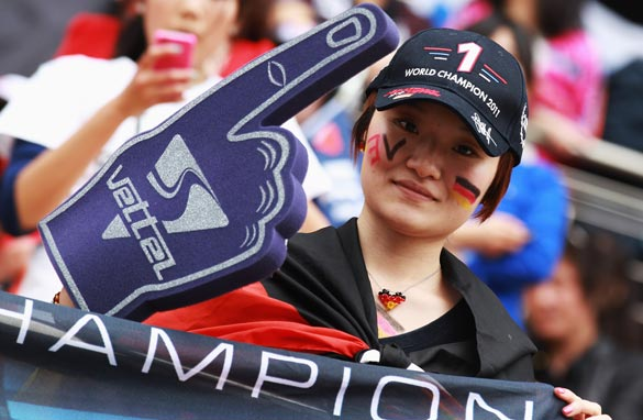 Sebastian Vettel's fans have had only one race win to celebrate this year ahead of the Monaco GP. (Getty Images)