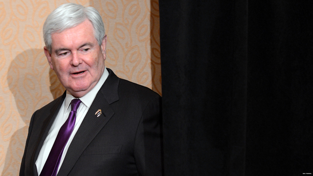 Gingrich remains mild on Romney