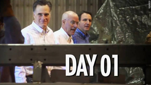 Mitt Romney expands on 'day one' promises