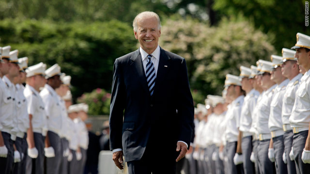 Biden touts Obama's foreign policy in West Point address