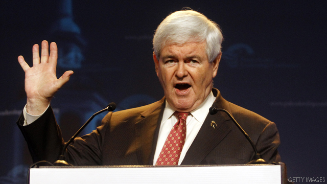 Gingrich's presidential advice: Raise money