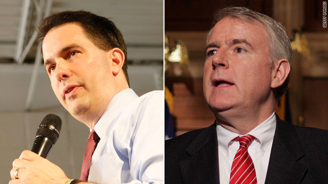 Candidates squabble over ads, spending in Wisconsin debate