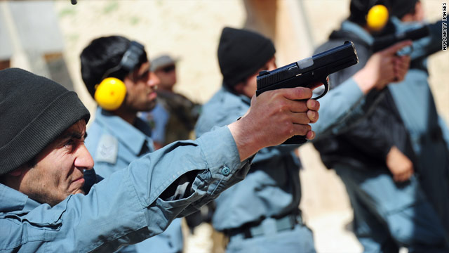 Internal reports highlight threats to Afghan police force