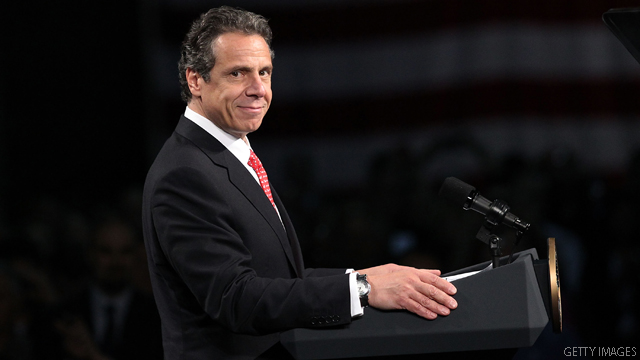 Cuomo book to get first run with 200k copies