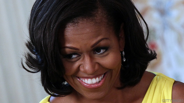 Michelle Obama 'excited' about anniversary debate double date