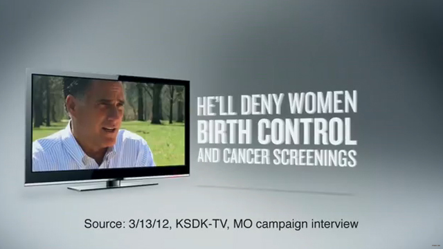 Planned Parenthood's new ad zeroes in on Romney
