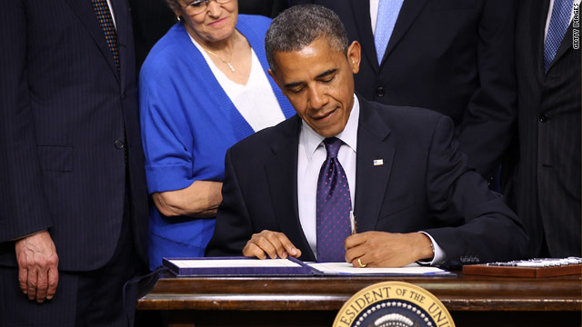 President signs into law bill that helps U.S. exports