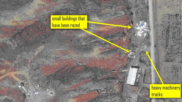 Cleanup at Iran's Parchin site?