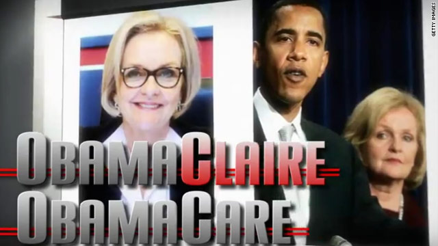 Obama-Claire: Group seeks to unfavorably tie McCaskill to Obama