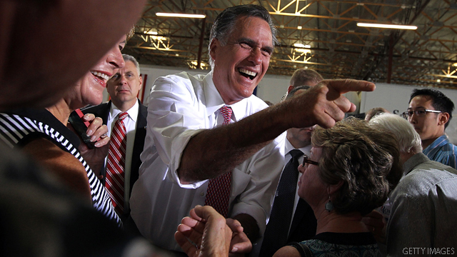 Romney lands second $100 million month