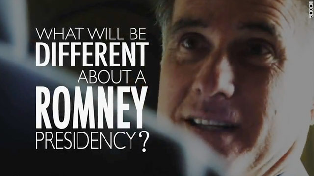Romney campaign out with third Day One TV ad