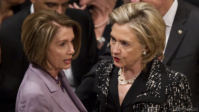 Pelosi: Hillary Clinton's 'our shot' in 2016