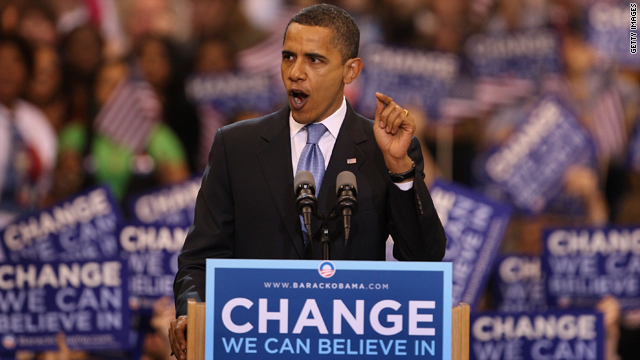 What kind of 'change' did President Obama deliver?