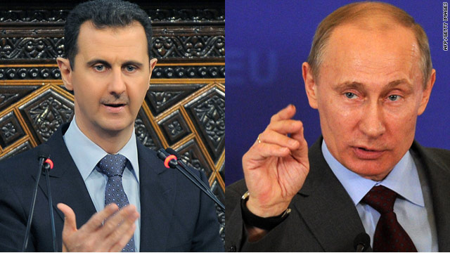 Could Russia help push out al-Assad?