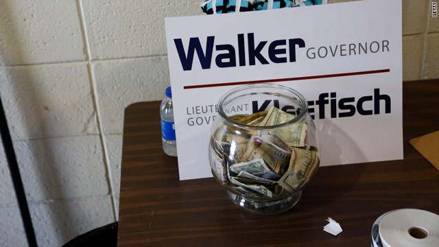 Walker and GOP win Wisconsin recall ad spending war