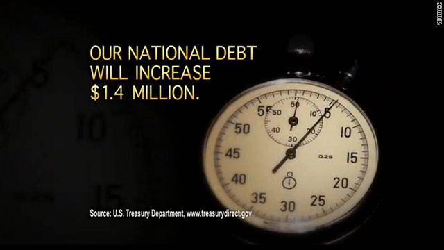 Crossroads ad slams Obama over debt