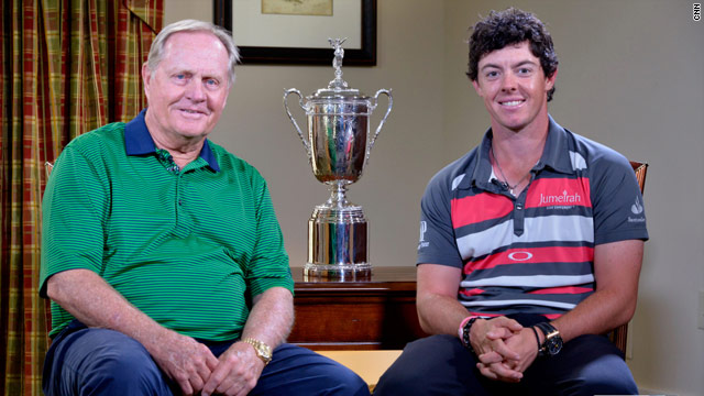 CNN exclusive with Jack Nicklaus and Rory McIlroy