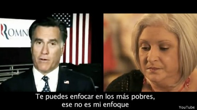 New Spanish-language TV ad targets Romney