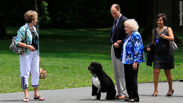 Betty White visits White House