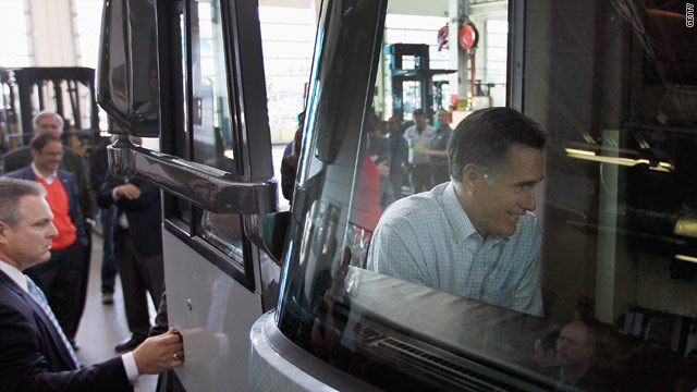 Romney to bus a move