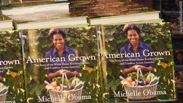 Michelle Obama signs her book for a lucky few