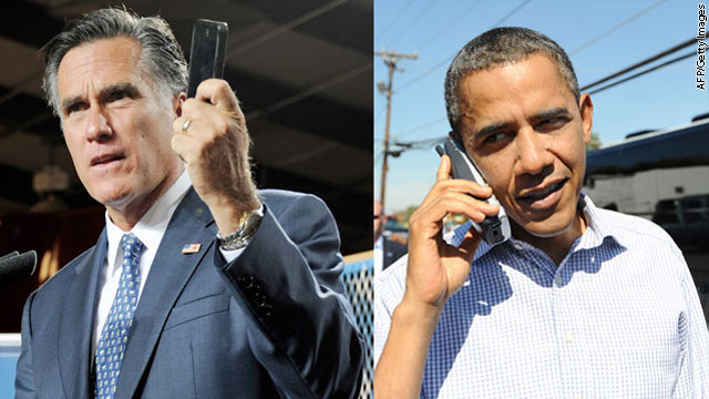 Obama, Romney campaigns in rare agreement: Text them money!