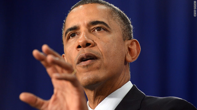 Obama outlines &#039;choice&#039; in November