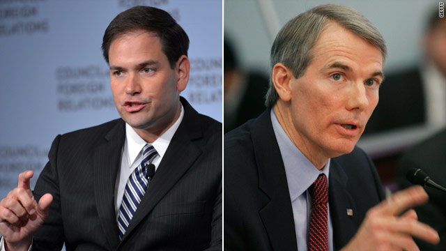 Rubio, Portman criticize Obama on economy at faith conference