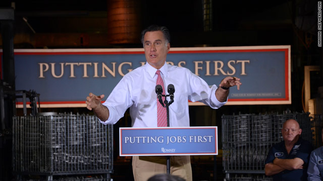 Romney on Obama: 'Talk is cheap. Action speaks very loud.'